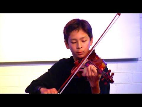 Tchaikowsky's Violin Concerto in D major (3rd mov) (Hugh Matthews)