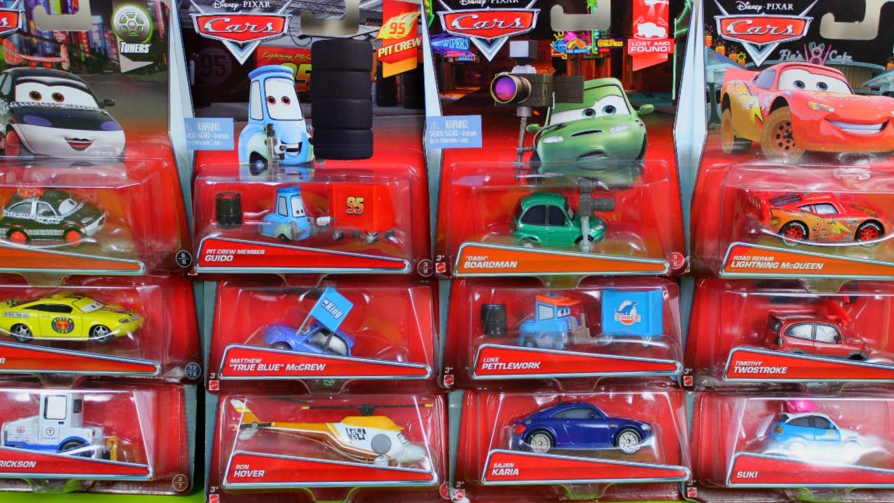 New 2015 Disney Pixar Cars New Lightning Helicopter Pitties Car Toys