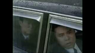たけしが白バイ警察官に扮して現金輸送車を乗っ取る Hijack an armored ...