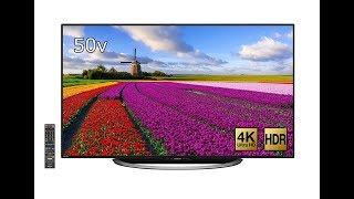 【紹介】シャープ 50型 液晶 テレビ AQUOS LC 50U45 4K対応 HDR対応 液晶テレビ 検索動画 27