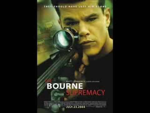 The Bourne Supremacy OST Goa poster