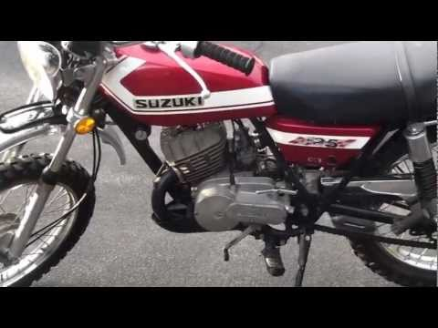 1972 Suzuki Tc 125 - YouTube