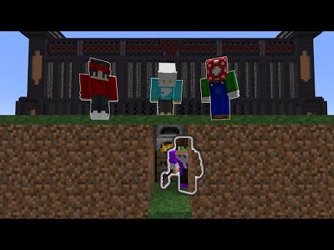 Minecraft Survivor VS 3 Hitmen on Dream SMP!