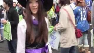 10月31日、2010Jリーグ特命PR部女子マネの足立梨花さんがケーズデンキスタジアム水戸を訪問しました。 □Jリーグのホームページ http://www.j-league....