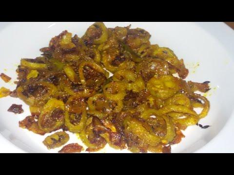 Karela Pyaz Ki Sabzi/Bitter Gourd Onion Vegetable