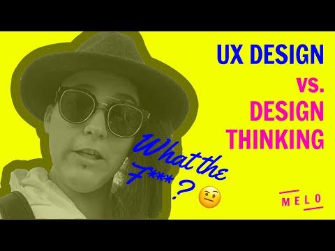 UX DESIGN ET DESIGN THINKING la différence