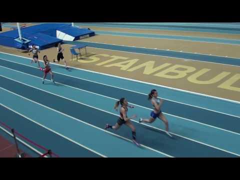 İstanbul Türkiye Salon Yıldızlar Şampiyonası 200 Metre Kızlar Final