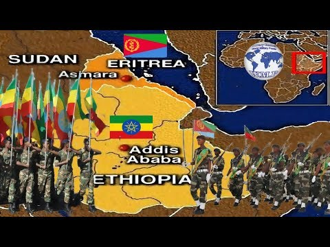 Ethiopia VS Eritrea Military Power Comparison 2018