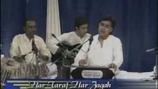 Har taraf har jagah beshumar aadmi LIVE HQ Nida Fazli Jagjit Singh post HiteshGhazal
