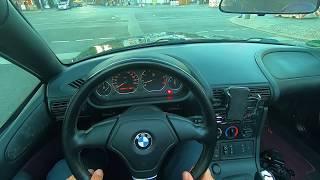 1997 BMW Z3 1.9   POV   City Drive