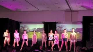 blossoms florals chrysalis bhsc charity fashion show 2012