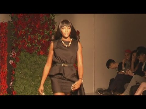 Naomi Campbell revolutionises fashion in Singapore at digital fashion week