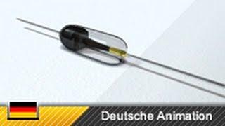 Diode / Gleichrichterdiode - Funktion (Animation)