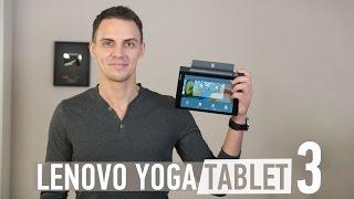 Lenovo Yoga Tablet 3: обзор планшета(Цена и наличие: http://rozetka.com.ua/lenovo_za090004ua/p4218568/ Видеообзор Lenovo Yoga Tablet 3 Смотреть обзоры других планшетов: ..., 2015-10-29T08:00:00.000Z)
