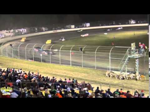 MAGNOLIA MOTOR SPEEDWAY COTTON PICKIN' 100 10/11/14 PART 1