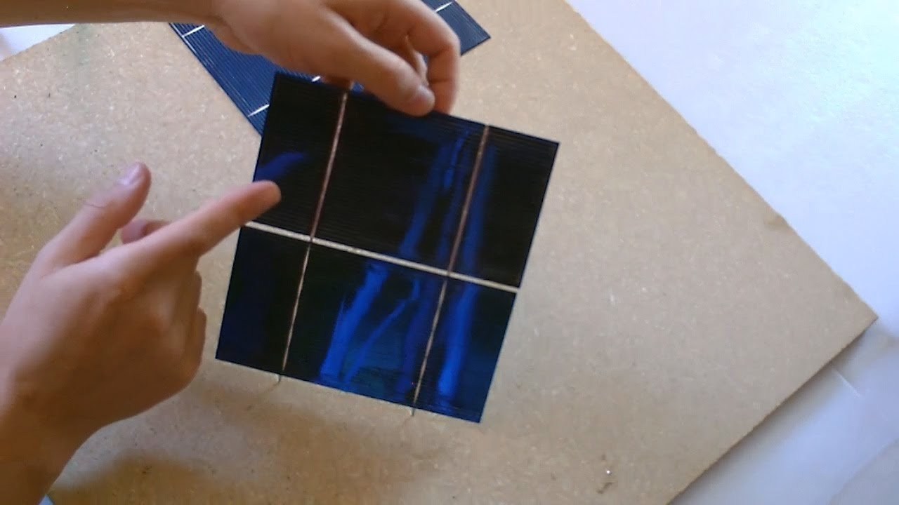 how to make a solar panel work