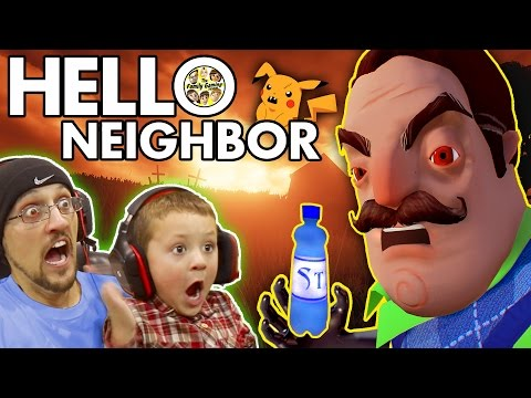 HELLO NEIGHBOR! Scary BASEMENT Mystery...