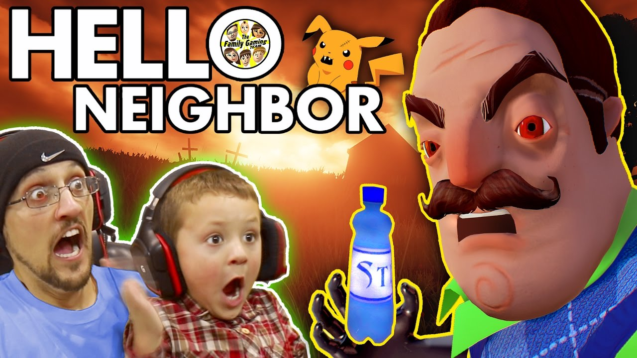 Hello Neighbor Scary Basement Mystery Game His Secret