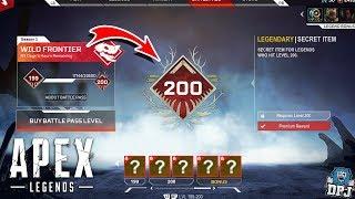 Apex Legends: Hidden LEVEL 200 Battle Pass Tier? / Secret Reward? - Gifting & Music Packs