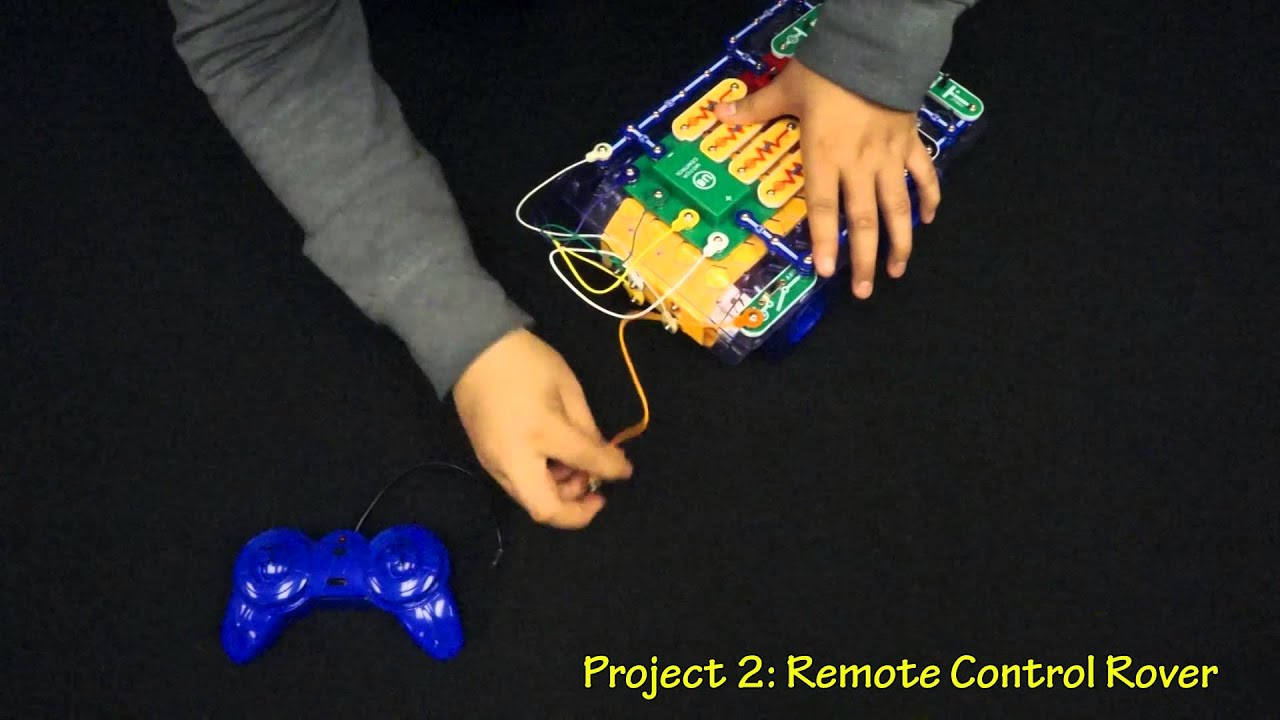 Snap Circuits Rover Model Scrov 10 Youtube Circuit Light By Elenco Ebeanstalk