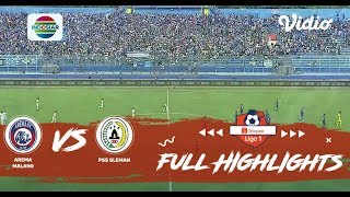 Goal Highlight - Arema Malang (4) Vs (0) PSS Sleman | Shopee Liga 1