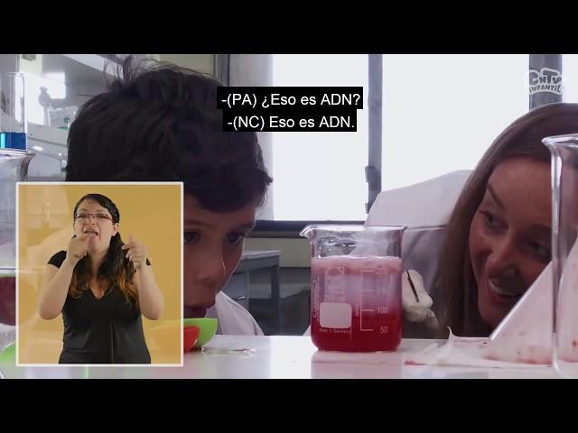 Experimenta | ADN, un moco lleno de vida | Lengua de señas