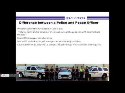 Alberta Community Peace Officers