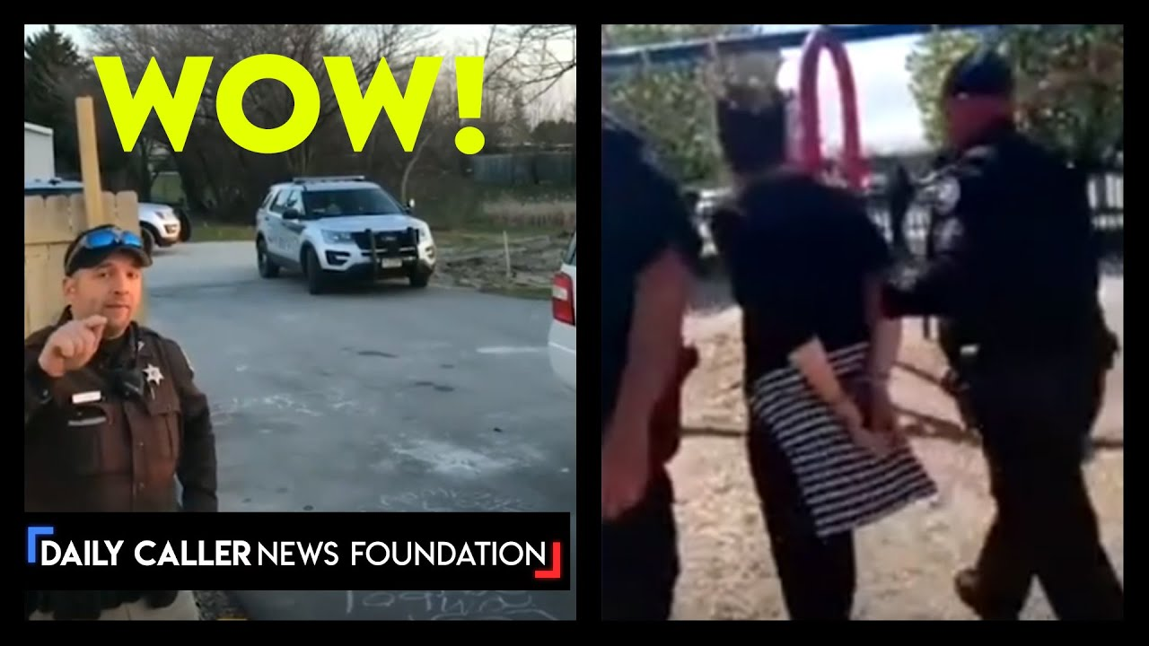 Woman Harassed By Police For Letting Daughter Play With Neighbors