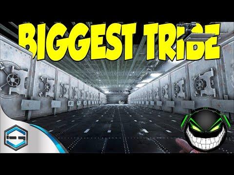 Ark Survival Evolved BIGGEST ALPHA TRIBE ON ARK (DVS) Part 1