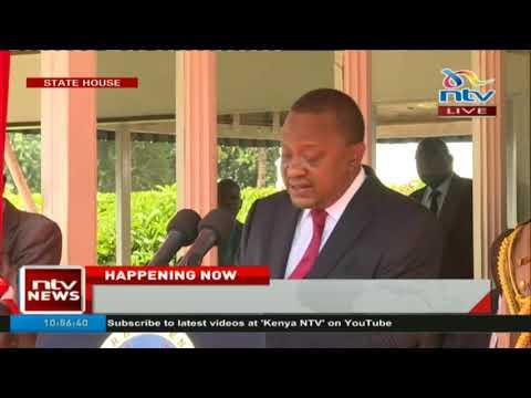 President Uhuru Kenyatta's tough message to all cabinet secretaries