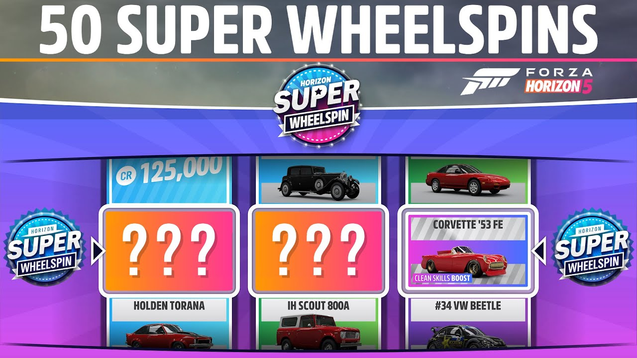 Download Forza Horizon 5 - OPENING 50 SUPER WHEELSPINS!! - (So much better than FH4) - Amazing Rewards!!