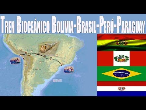 Bolivia y Perú Alistan 2 Acuerdos por Tren Bioceánico y Paraguay Decide Sumarse