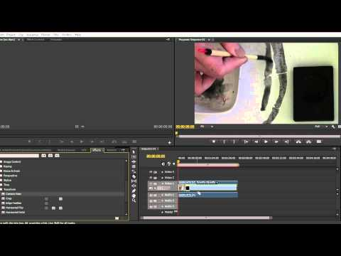 How to rotate upside down video in Adobe Premiere Pro CS6