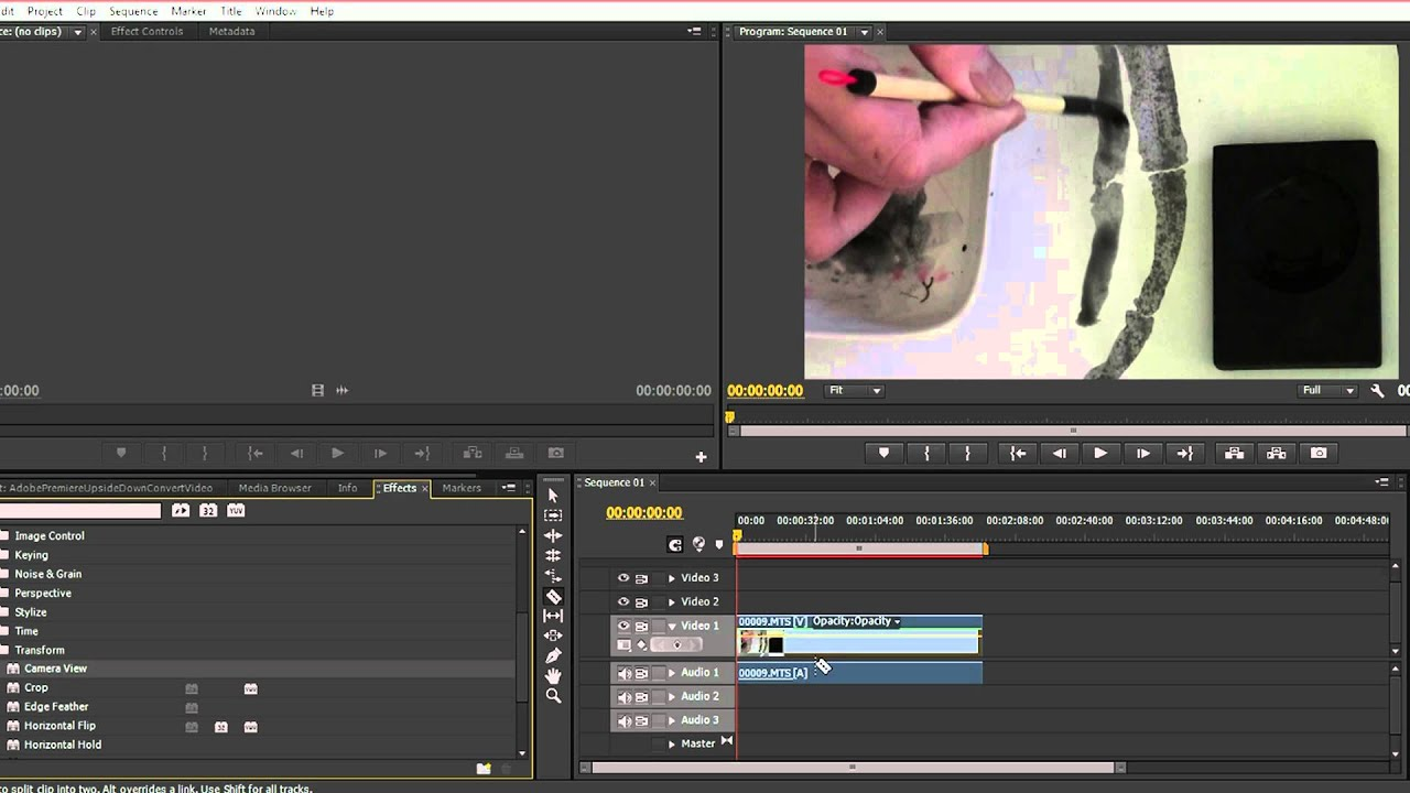 How to rotate upside down video in adobe premiere pro cs6 youtube how to rotate upside down video in adobe premiere pro cs6 ccuart Images