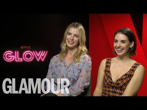 Alison Brie & Glow Cast Chat Wrestling, the 80s & Girl Power  Glamour UK
