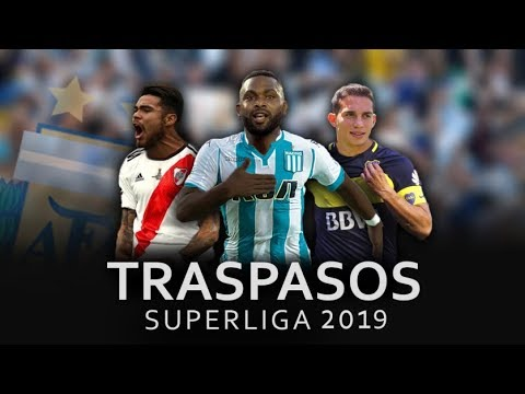 Mercado de Pases Superliga 2019/Boca Juniors, River Plate, Racing, Casla