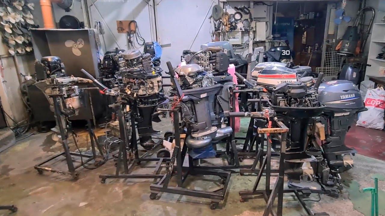 Обзор моторов в ремонте