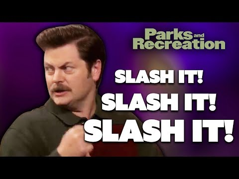 Ron Swanson Presents…Government Hatred 101   Parks and Recreation   Comedy Bites