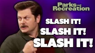 Ron Swanson Presents...Government Hatred 101   Parks and Recreation   Comedy Bites