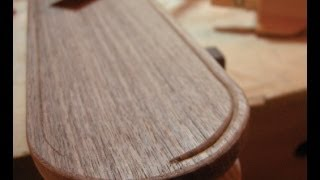 Shaping The Legs Of A Wooden Table - The Architect's Table Part Nine.