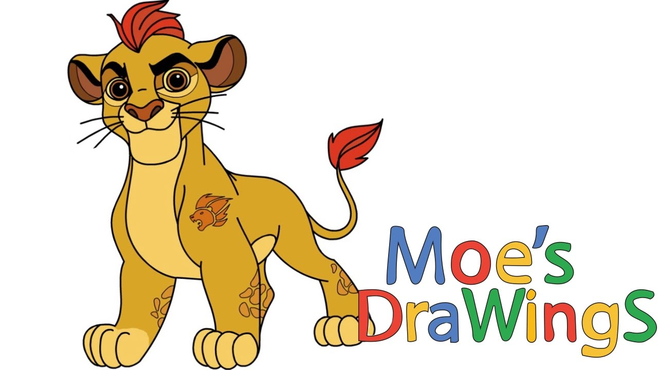 Lion guard coloring book - The Lion Guard Kion Disney Junior How To Draw And Coloring Fun New Hd Video For Kids