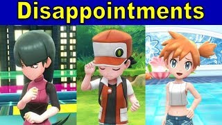 Top 5 Disappointments in Pokemon Let's Go Pikachu and Eevee | @GatorEXP