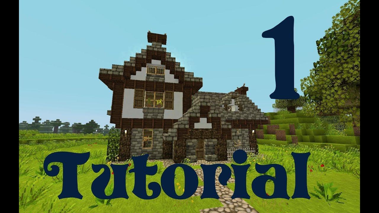 Minecraft Spielen Deutsch Minecraft Mittelalter Haus Einrichtung - Minecraft mittelalter haus download