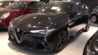 Alfa Romeo Giulia Quadrifoglio 2017 In Depth Review Interior Exterior
