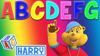 Letters A B C D E F G | +More Nursery Rhymes & Kids Songs - ABC Harry