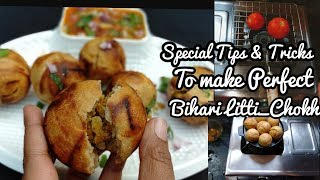 बिहार की फेमस लिट्टी चोखा perfect बनाने का Tips & Tricks | Litti in Appam pan | Bihari shaan | NKT