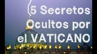 5 Secretos del VATICANO revelados