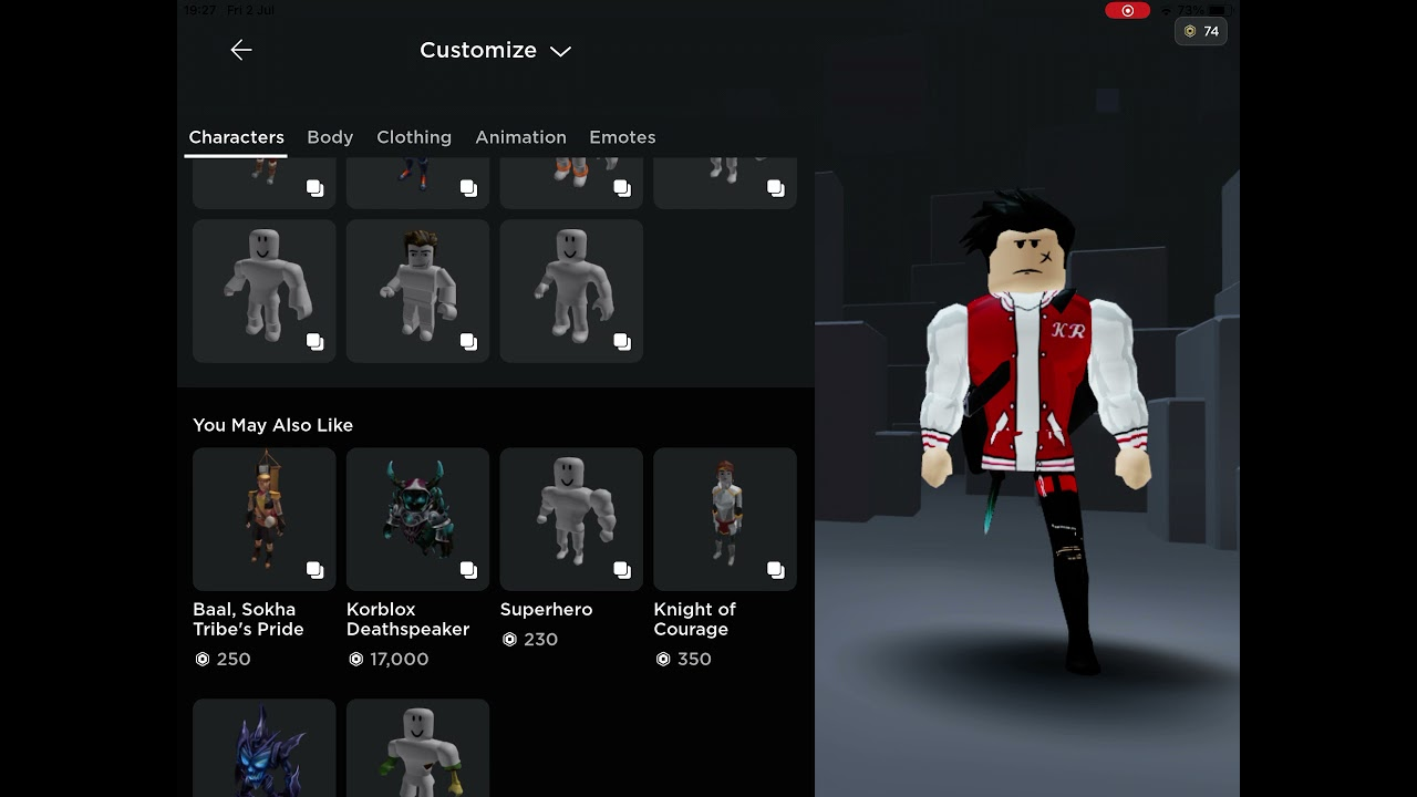 Download How to make your avatar look like KR