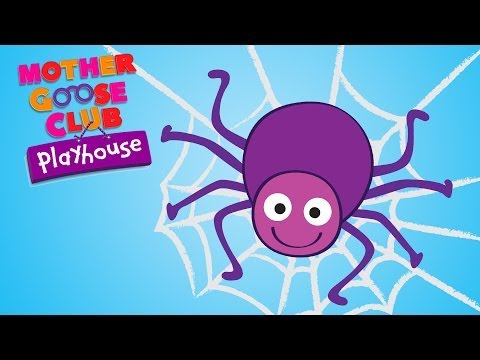 Eensy Weensy Spider | Mother Goose Club Playhouse Kids Video