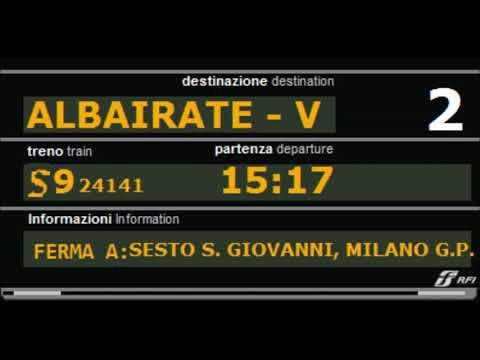 Annunci Trenitalia-Trenord Stazione Di Monza Con Voce Oddcast